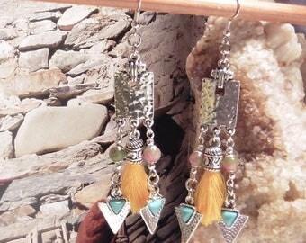 """Earrings """"desert flower"""""""