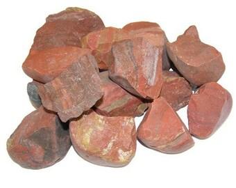Stone raw Jasper red 3-5cm