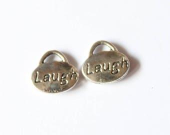 "beautiful oval ""laugh"" 11 mm, set of 5 pendants"