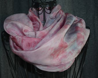 Scarf silk ponge 9 - roulote hand shade 5