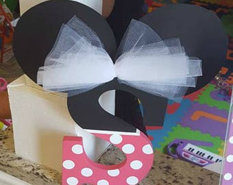Minnie Mouse Birthday Party Decor