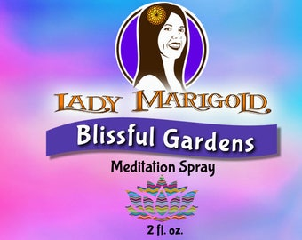Blissful Gardens- 2 oz. Meditation Spray