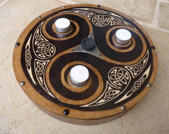 Example of Celtic prayer custom tray