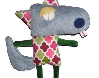Gray Wolf plushie
