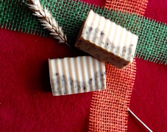 Coconut oil SOAP with oat drink