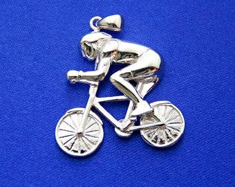 Cyclist Pendant