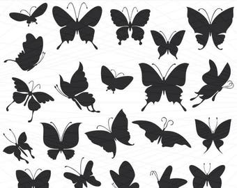 Butterfly svg, Butterfly silhouette, Butterfly silhouette Svg, Butterfly Vector, Butterfly Download, Butterfly Cut File, Butterfly File