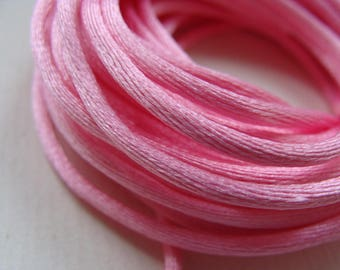 1 meter rat tail pink 0.3 mm thick