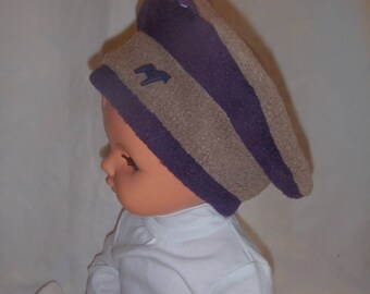 Fleece winter hat (baby - toddler up to 4 years)