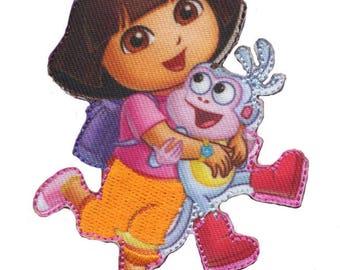Dora the Explorer coat and boots