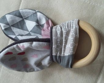 Baby girl pink and gray set