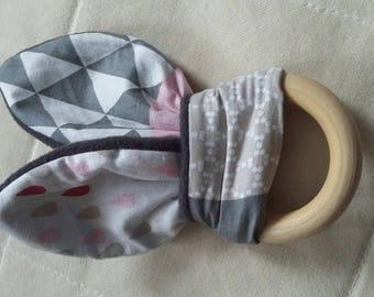 Baby girl pink and gray set
