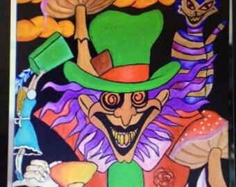 Wonderland Original paitning
