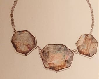 Chloe and Isabel Ocean Lace Statement Necklace
