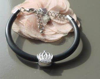 black pearl bracelet Kit passing steel Crown
