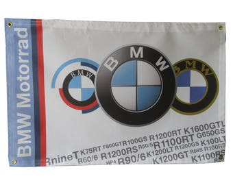 BMW Motorcycle Flag
