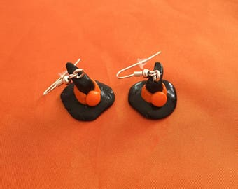 Halloween witches Hat earrings
