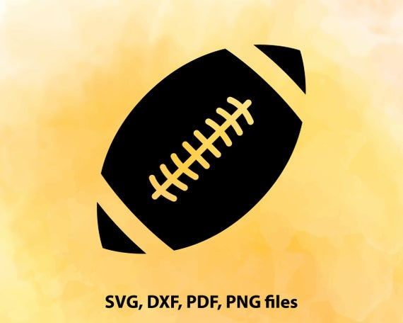Football Svg Files Svg Designs Football Cut File Football
