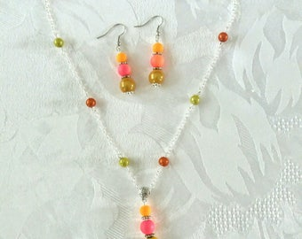 "Set of summer ""flashy"" orange and yellow colors"