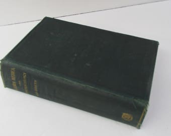1927 A Manual Of Materia Medica & Pharmacology Organic Inorganic Drugs Illustrated Book