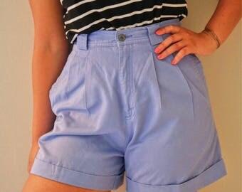Liz Claiborne periwinkle vintage 80s shorts. Womens size 4.
