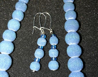 55. Necklace and Earrings Set (Recycled)