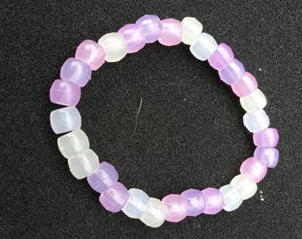 268. Stretchy Colour Changing Beaded Bracelet
