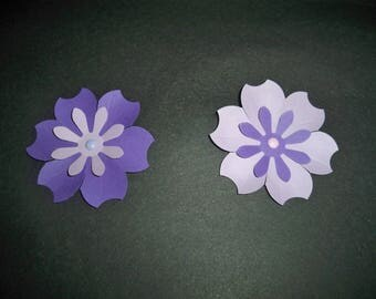 SCRAPBOOKING Lot Punch new flower 2 color choice