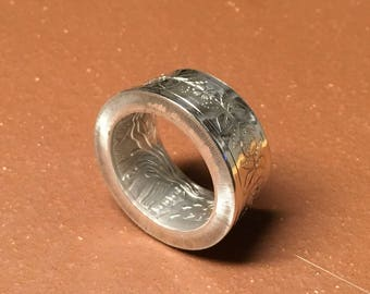 Belarus 2010, Smith Craft Trades, 20 rubles, 1oz. Silver Coin Ring