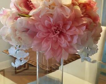 Pink flowerball