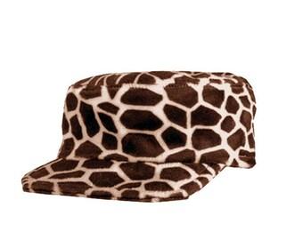 Army Style Cuban imitation giraffe Hat