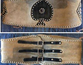 Amazing vintage kidney belt.
