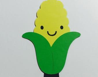 Corn on the Cob Paper Die Cut