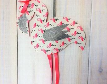 Flamingo pilot baby kids wall decor