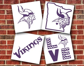 Minnesota Vikings Vinyl Decal Sticker