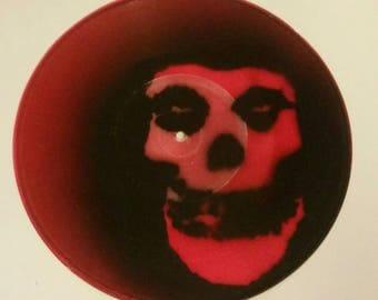 Red vinyl Misfits record