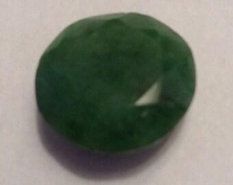 Faceted natural Emerald 10.45 carats