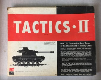 Tactics 1961 Board Game