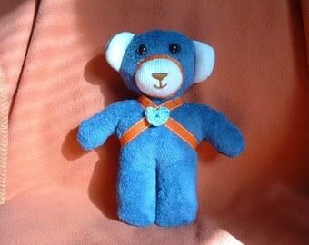 """""""Blue"""" Teddy bear soft toy"""