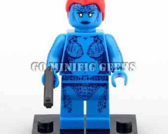 Custom Mystique Minifigure X-MEN Comics Fits Lego UK Seller