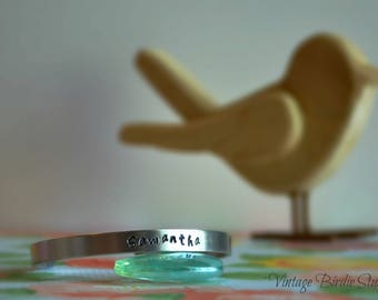 Personalized Name ~ Cuff ~ Bracelet ~ Made to Order