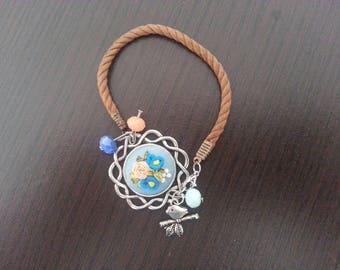 Hand Embroidered Bracelet
