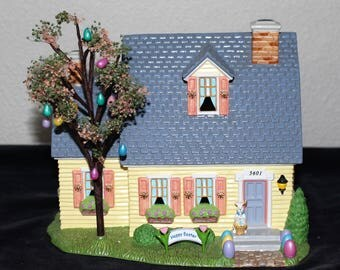 Department 56 - Snow Village - Happy Easter House