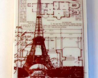 Eiffel Tower - Paris - scrapbooking - card - making creations background stamp