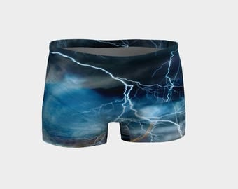 Storm Shorts, Workout Shorts, Roller Derby Pants,  Roller Derby Shorts, Roller Derby Skins, Activewear, Gym Clothes, Gym Shorts, Crossfit