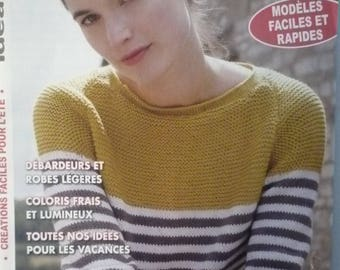 IDEAL Creations mesh number 34 knitting magazine