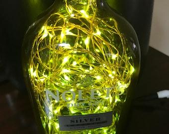 Nolet's Gin Bottle Lamp