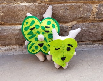 Korok Plush (Regular Size with Jingle Bell - Customise your own!) - Made to Order