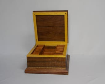 Handcrafted wood Large Jewelry Box