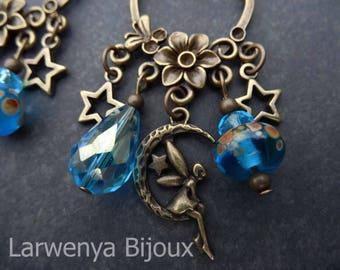 Earrings - Bronze - magic and enchantment...